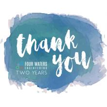 Thank you - Four Waters Engineering Two Years